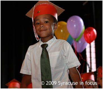 Mateo Baker, Kindergarten Ceremony