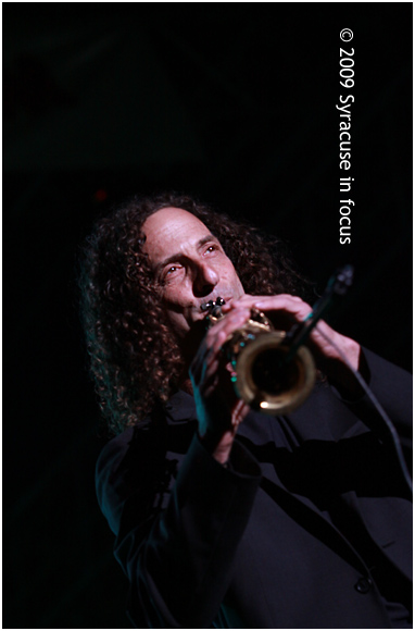 Kenny G 2009 Syracuse Jazz Fest