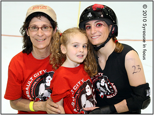 Roller Derby: A Family Affair