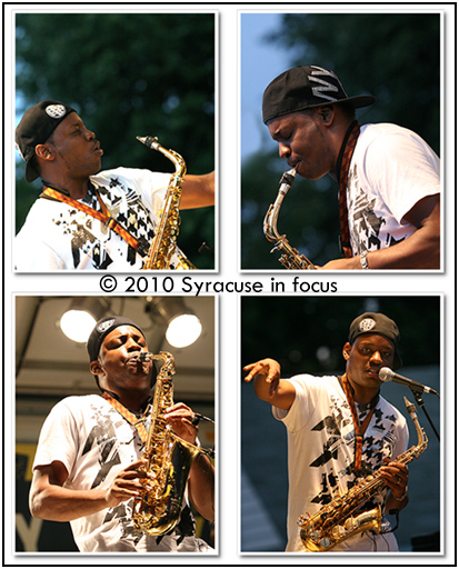 Jackiem Joyner playing Jazz in the City (Eastwood)