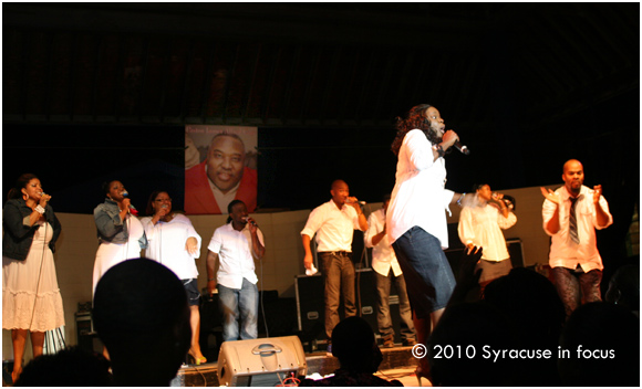 J. J. Hairston and Youthful Praise at the Fair
