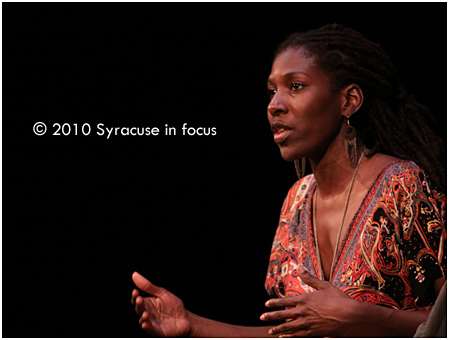 Reenah L. Golden discusses urban education following her performance in No Child...