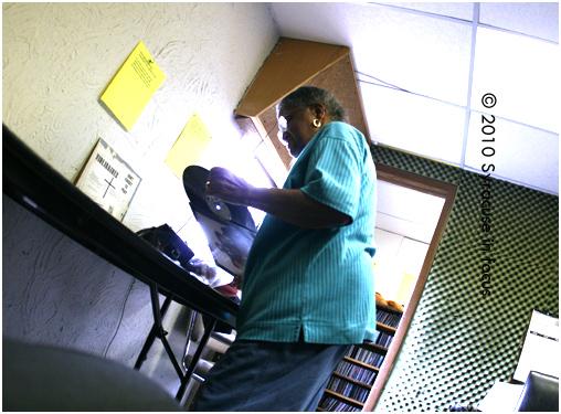 Mrs. Townsend, DJ WSIV radio