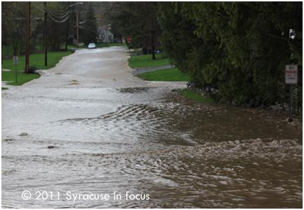 Flooding--Dewitt, NY