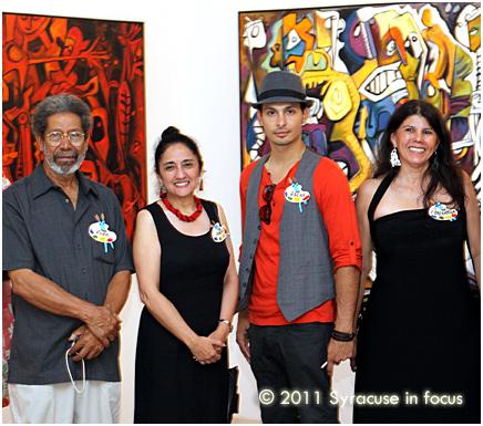 Juan Cruz, Angela Arrey-Watavino, Oscar Garces, and Esperanza Tiebaard