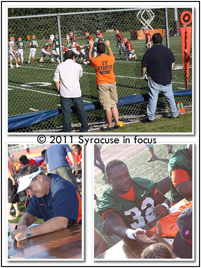 Syracuse University Football Fan Fest 2011