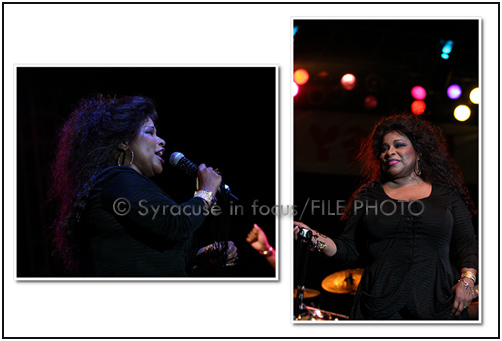 Chaka Khan at Syracuse Jazz Fest 2008