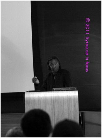 Walter Hood gives the 2011 Warner Selgiman Lecture at Syracuse University