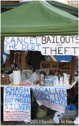 Ground Zero for Occupy Syracuse