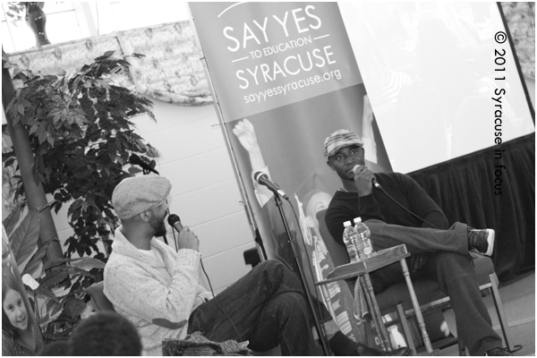 Shane Evans and Taye Diggs discuss their collaboration to create Chocolate Me.