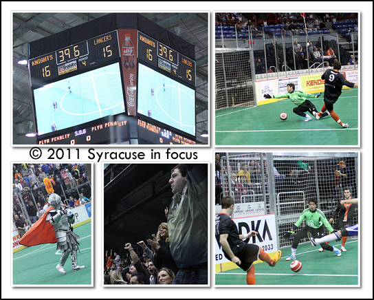 Syracuse Silver Knights inaugural game versus Rochester, November 4, 2011