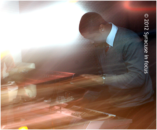 Daquean Bowens on keys