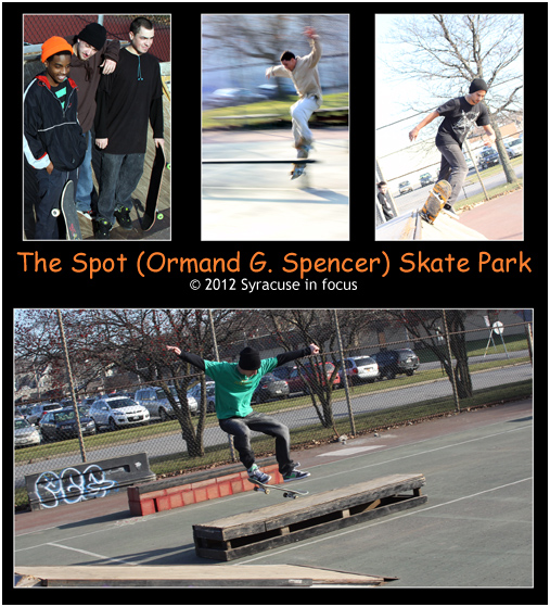 Urban Planners: Local skaters redevelop tennis court on Water Street.
