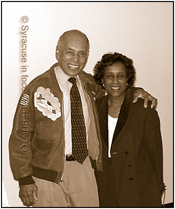 Dr. Roscoe Brown and Merriette Chance Pollard