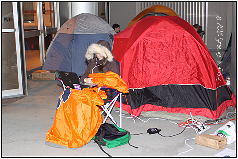 Camping out for a Big East Classic Matchup: Carrier Dome, Syracuse, NY