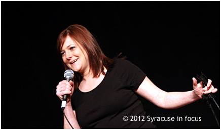 Amy Carlson, who lives in New Rochelle, wrote a poem about Syracuse, want to hear it, here it goes.