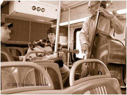 The Connective Corridor's Band on the Bus