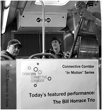 Bill Horrace Trio playing on Centro