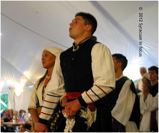 Traditional Dancing: Greek Festival