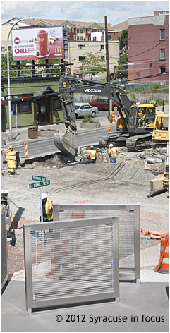 The Big Dig: East Genesee Street and Irving Avenue