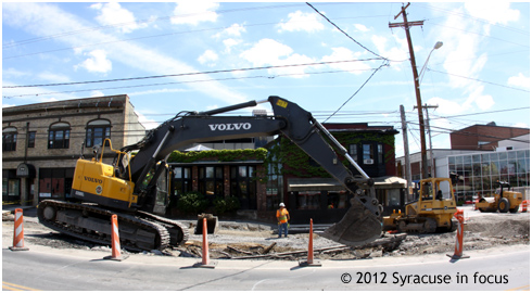The Big Dig (East Genesee Street)