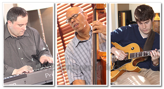Bill Horrace Trio plays Wednesday evenings at the Crowne Plaza