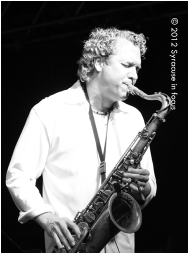 Andrew Neu plays Grover at the NE Jazz & Wine Fest in Syracuse