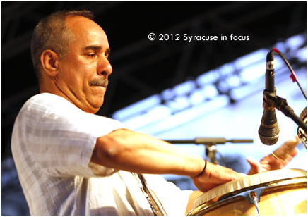 Hector Maldanado, percussion for Urban Coalition