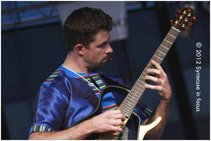 Guitarist Michael Bester