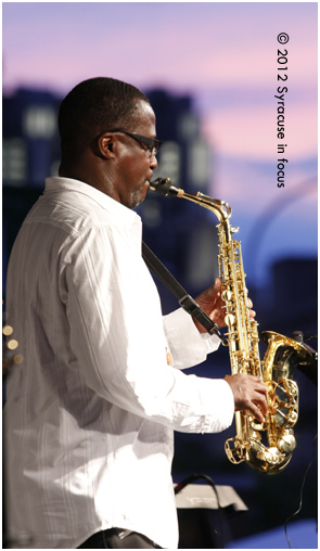 Richard Randolph, saxophonist for Urban Coalition