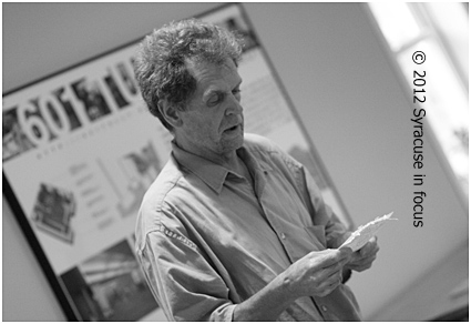 Michael Burkard, poet