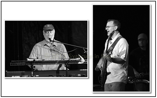 Earth Jam (Otteson on Keys and Vertino on Bass) played the Midway Music Series on Day 5 of the New York State Fair