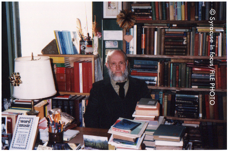 Herb Smith, former owner of White Rose Books (Hawley Avenue), circa 1997
