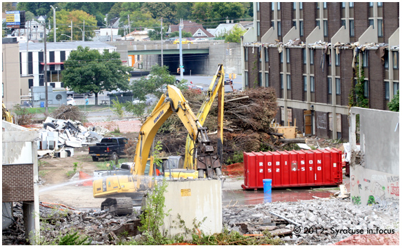 Midtown Rise of the Machines: Opening the former Kennedy Square Property to Erie Boulevard and Northside.