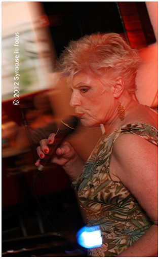 Nancy Kelly sings at the Sheraton Hotel (Sitrus Lounge)