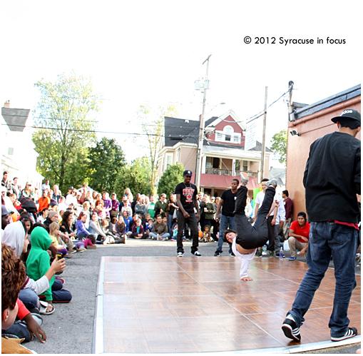 Battle of the B-Boys, Syracuse Dance Project