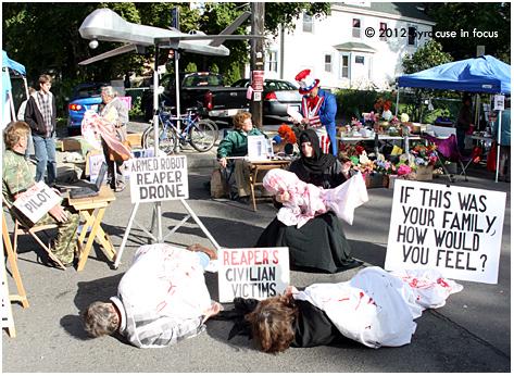 Drone Protestors