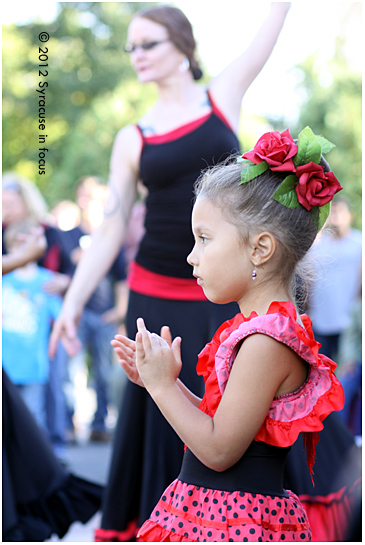 Dancer in Training: Puente Flamenco