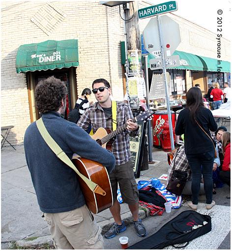 Street Musicians @ Harvard Place