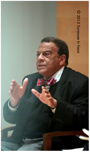 Former Ambassador Andrew Young