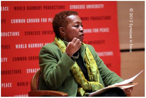 SU's Linda Carty (Dept of African American Studies)