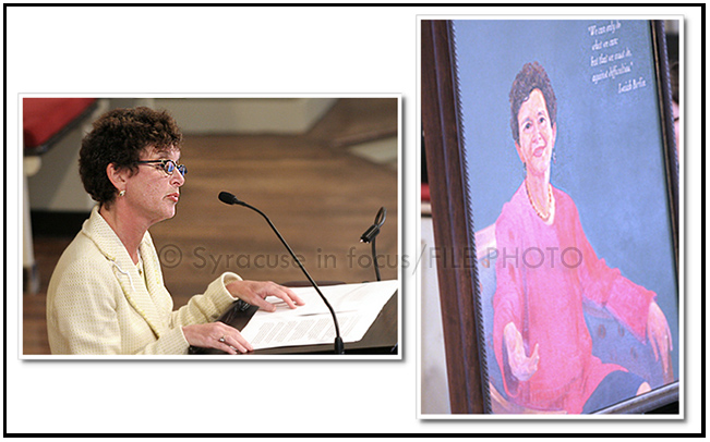 SU Chancellor Nancy Cantor (file photo)