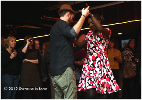 Dancing at Dinosaur BBQ: Sandy Benefit Marathon Concert
