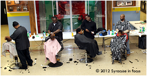 A Cut Above: Community Barbers Volunteer their time and services each year at the Southwest Community Center.