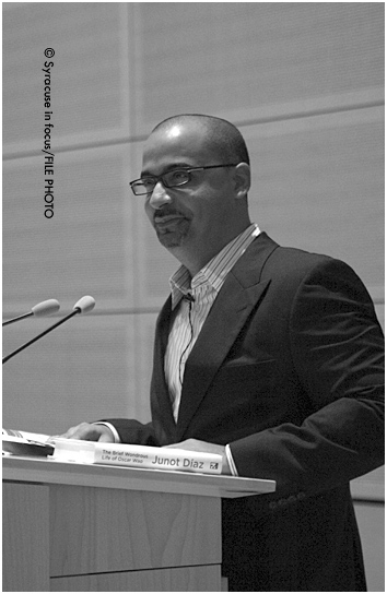 Junot Diaz at Syracuse University