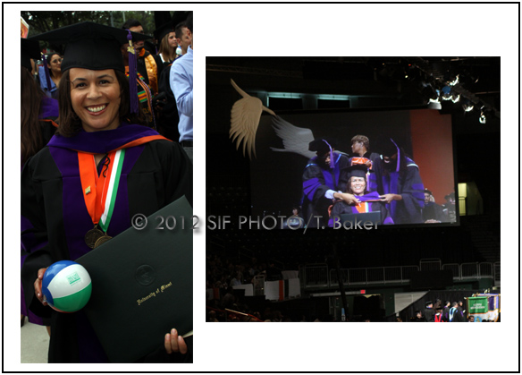 Odetta Norton, a SIF Advisory Board Member, graduated from University of Miami Law School this week.