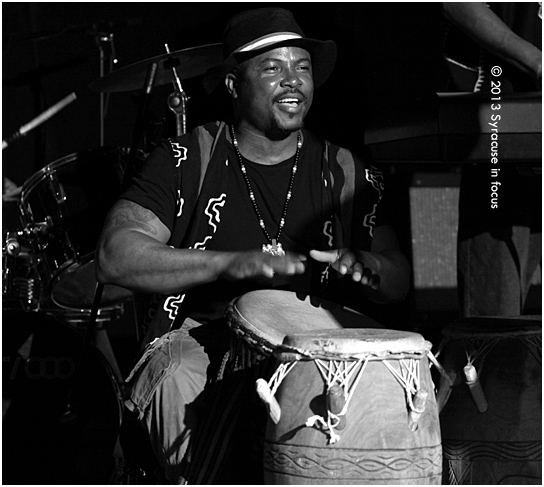 David Etse Nyadedzor is the lead singer and drummer for Akuma Roots.
