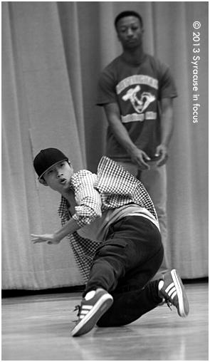 Syracuse University Break Dance team