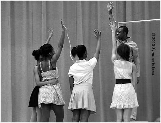"""Dance Theater of Syracuse performs """"Even Time Takes Time."""""""