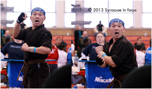 Chihwa Kao competed in forms at the Excel Martial Arts Tournament at Syracuse University last weekend.